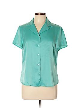 Kasper Short Sleeve Blouse Size 12