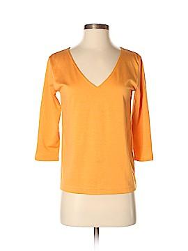 Linda Allard Ellen Tracy 3/4 Sleeve Top Size P (Petite)