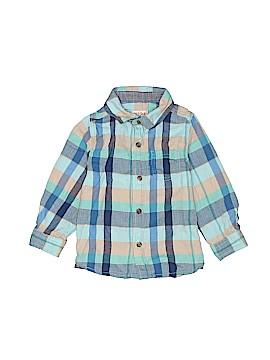 Cat & Jack Long Sleeve Button-Down Shirt Size 2T