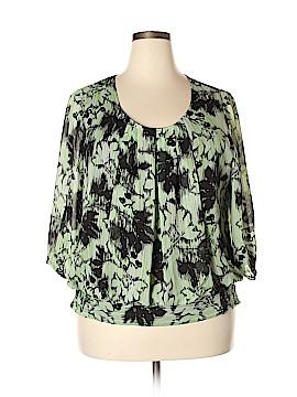 DressBarn 3/4 Sleeve Blouse Size XXL