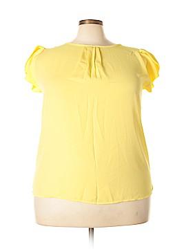 April Short Sleeve Blouse Size 3X (Plus)