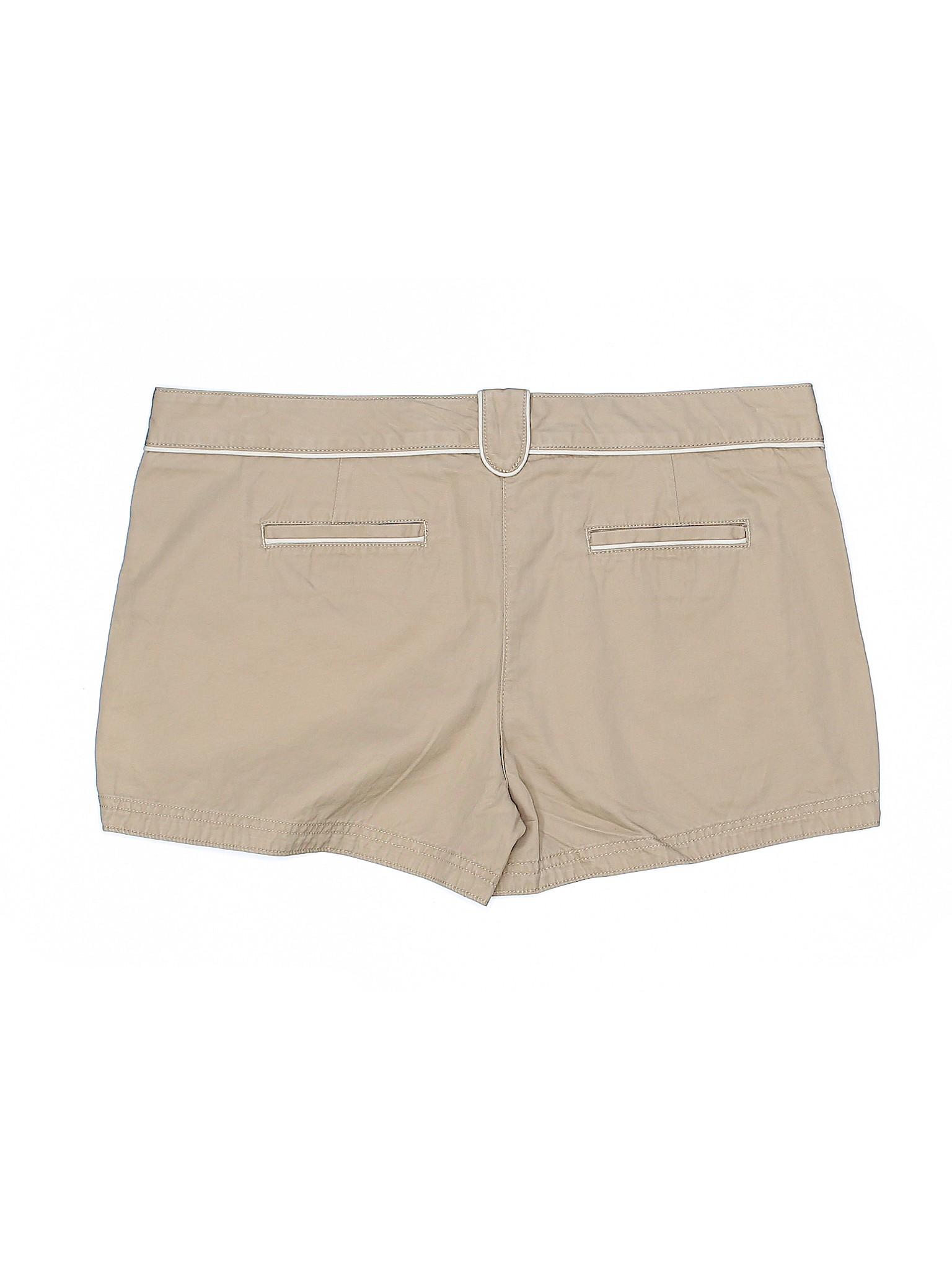 Lands' Khaki Canvas End Boutique Shorts X6Hq1Hx