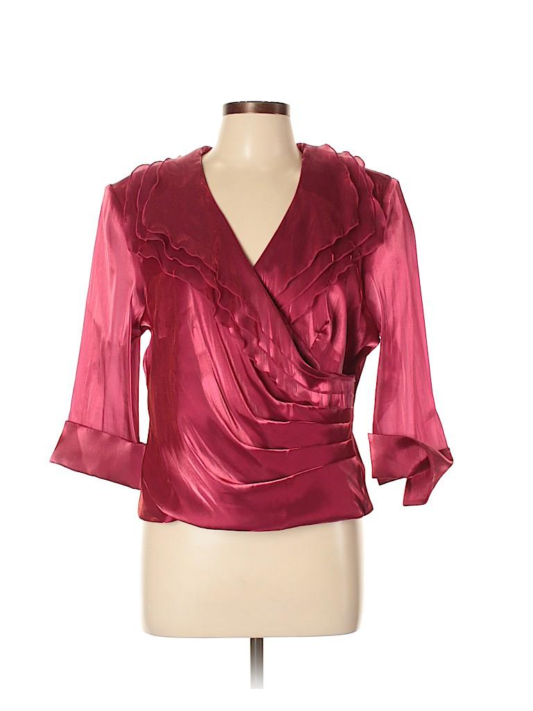 DressBarn Women Long Sleeve Blouse Size XL