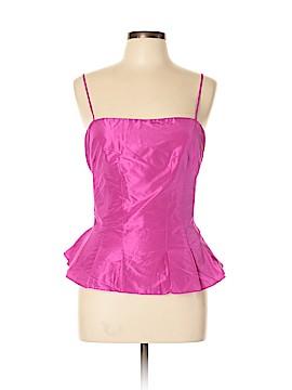 Flores & Flores Sleeveless Silk Top Size 10