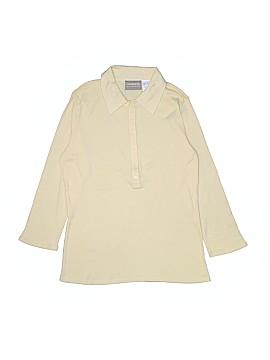 Lizwear by Liz Claiborne Long Sleeve Polo Size S