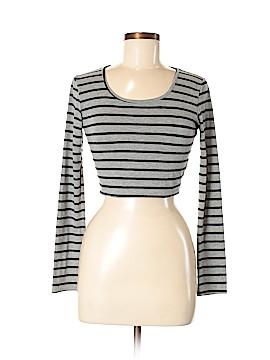 Aqua Long Sleeve T-Shirt Size M