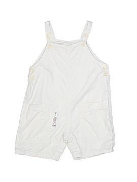 Petit Bateau Overall Shorts Size 12 mo