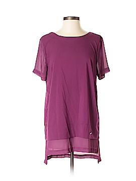 Ellen Tracy Short Sleeve Blouse Size M