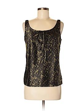 Kate Hill Sleeveless Silk Top Size 8