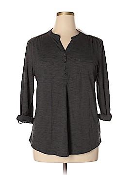 Northcrest Long Sleeve Button-Down Shirt Size XL