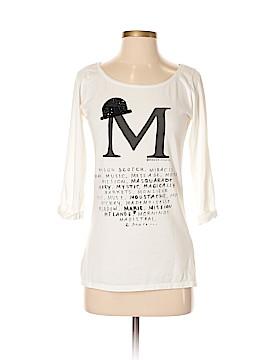Maison Scotch 3/4 Sleeve T-Shirt Size Sm (1)