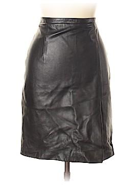 MICHAEL Michael Kors Leather Skirt Size 10