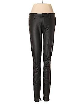 Genetic Denim Faux Leather Pants 27 Waist