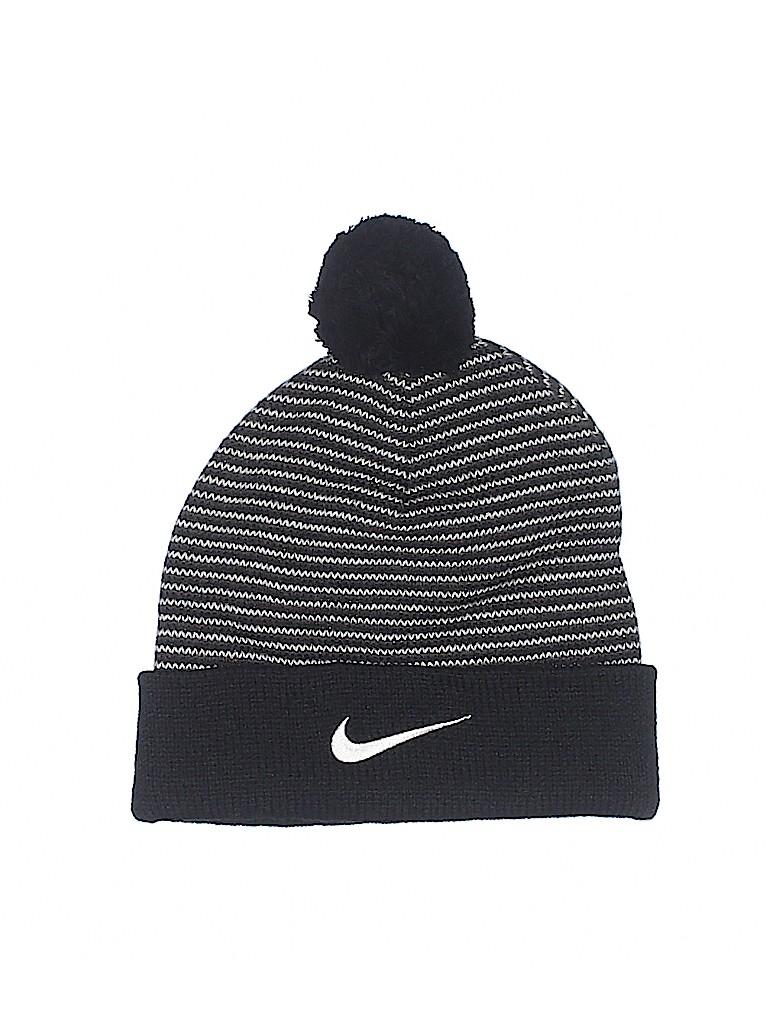d4b1e291704ac Nike 100% Acrylic Stripes Black Beanie One Size - 91% off