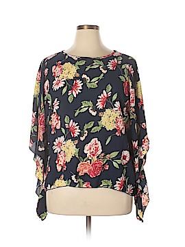 Be Lush 3/4 Sleeve Blouse Size 2X (Plus)
