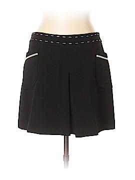 Pink Tartan Wool Skirt Size 10