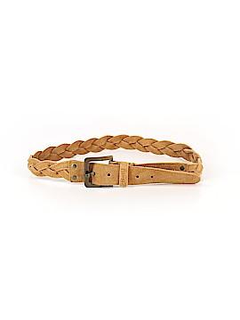 Pistil Leather Belt Size M