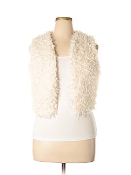Jack. Faux Fur Vest Size L