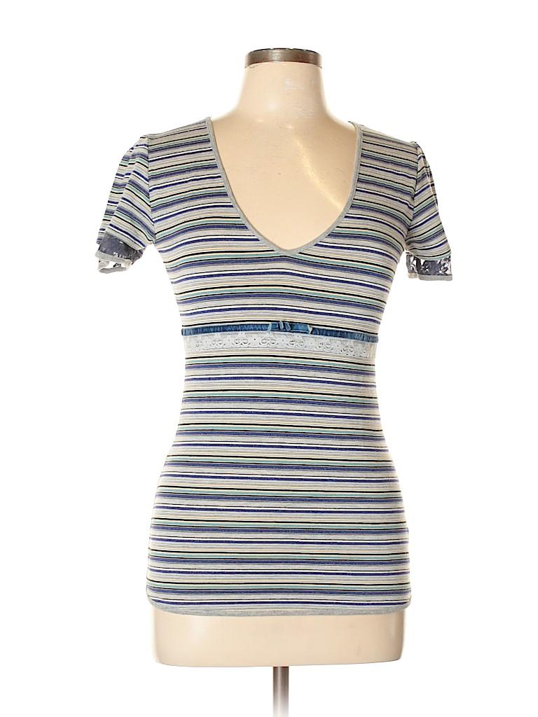 Sandro Ferrone Women Short Sleeve Top Size L