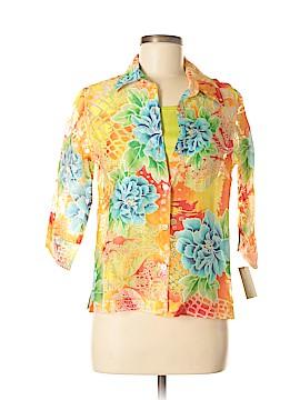 Valerie Stevens 3/4 Sleeve Blouse Size M (Petite)