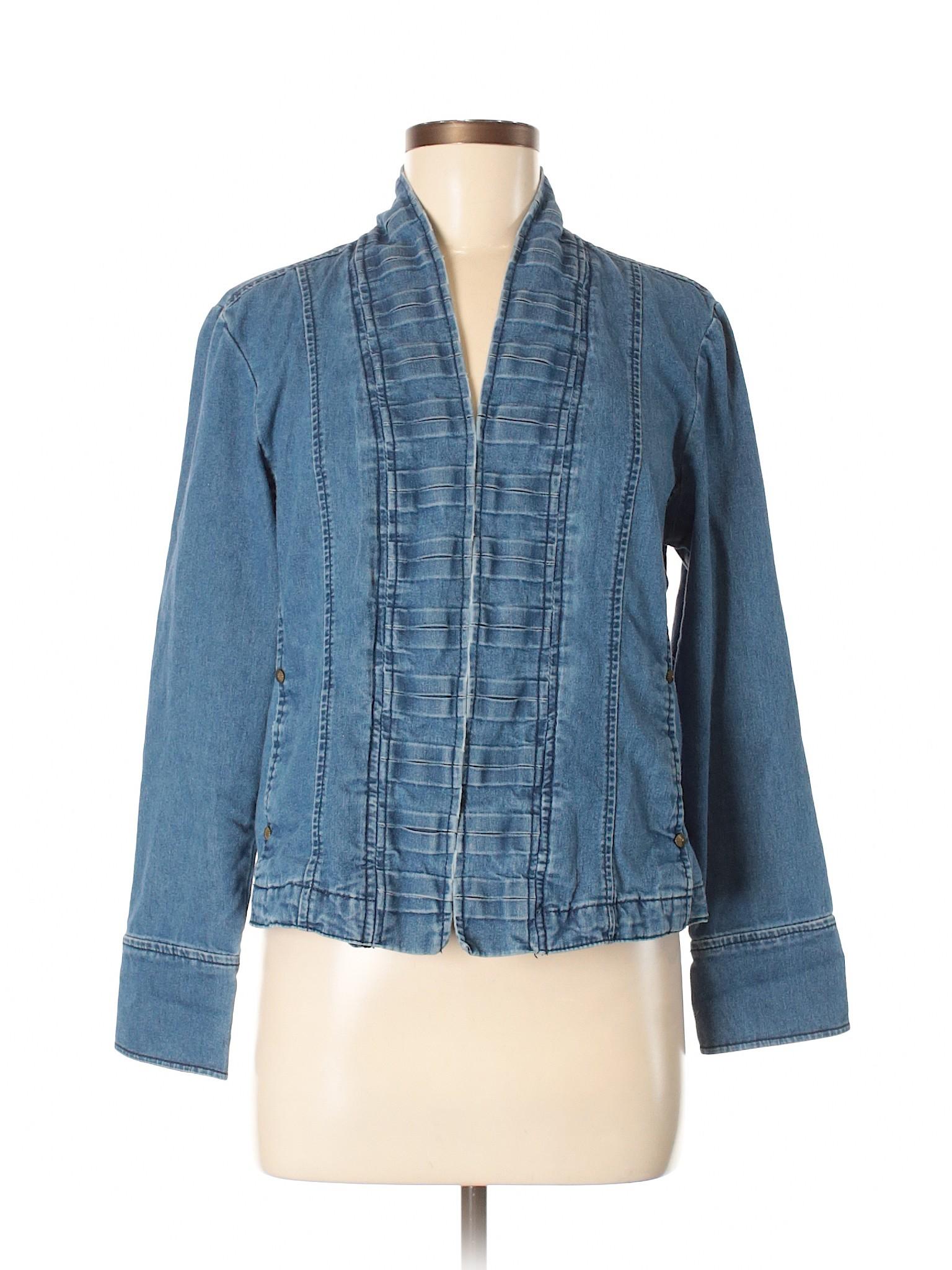 DressBarn Jacket Boutique Boutique leisure leisure Denim K6W7cT74v