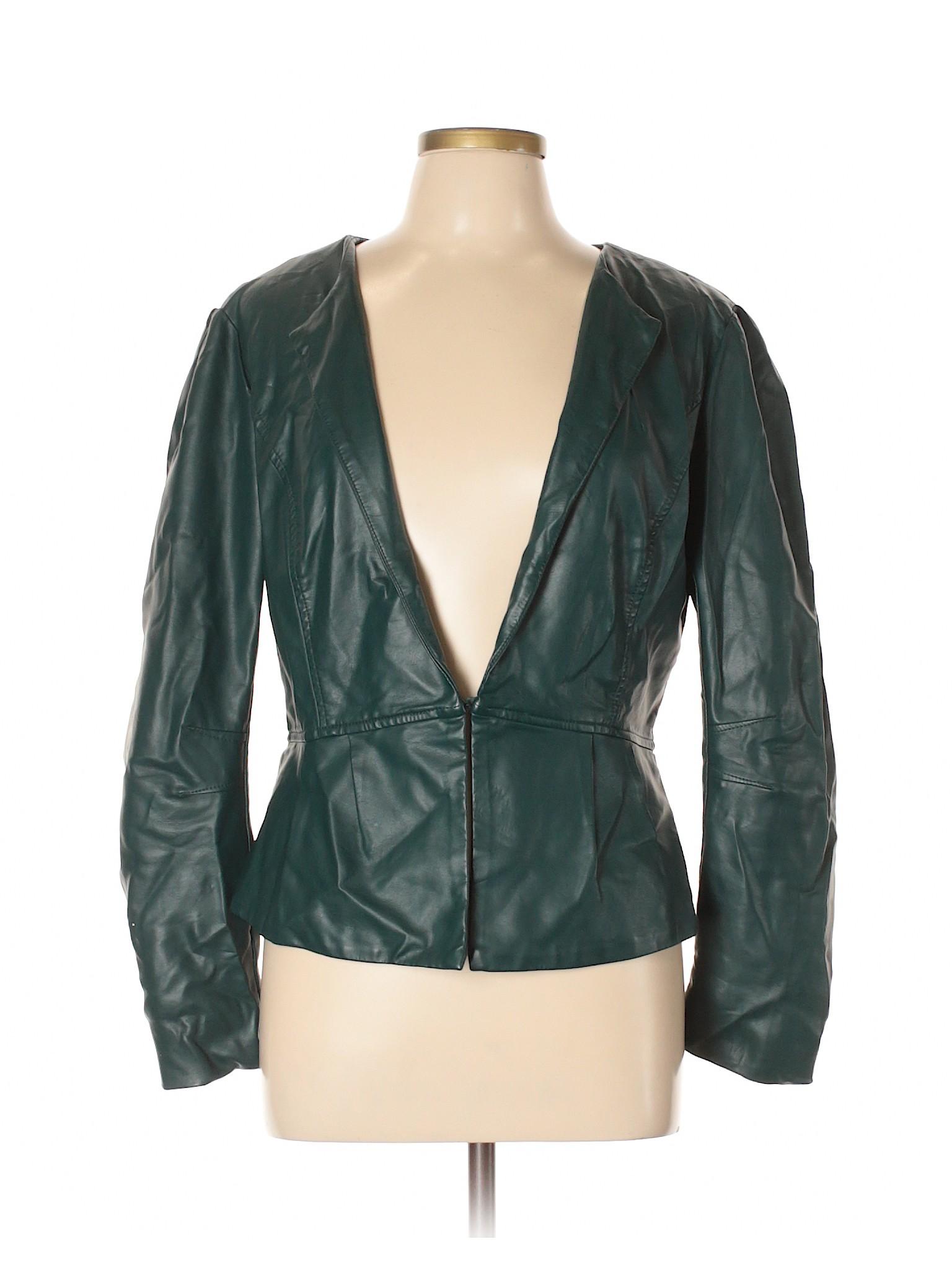 Leather winter Boutique Elle Jacket Faux FvnRna