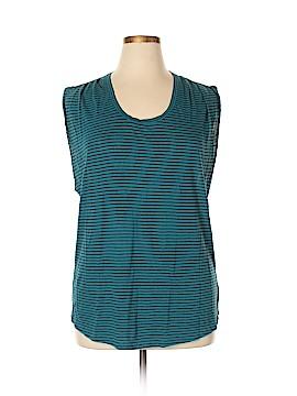 Velvet Sleeveless T-Shirt Size XL