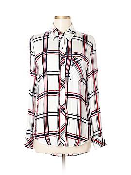 Lulu Long Sleeve Button-Down Shirt Size S