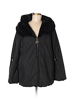 IMAN Wool Coat Size M