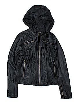 Catwalk Studio Faux Leather Jacket Size L