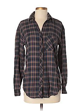 Community Long Sleeve Button-Down Shirt Size XXS