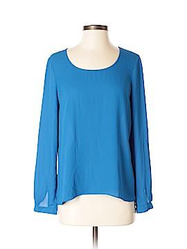 Barneys New York Long Sleeve Blouse Size S