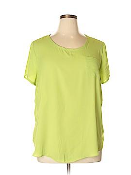 Sami & JO Short Sleeve Blouse Size XL