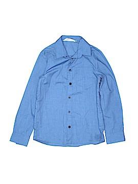 H&M Long Sleeve Button-Down Shirt Size 8 - 9