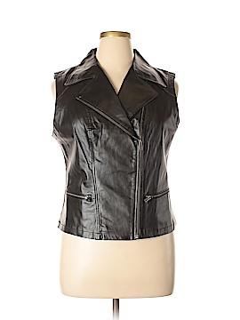 Metro Style Leather Jacket Size L
