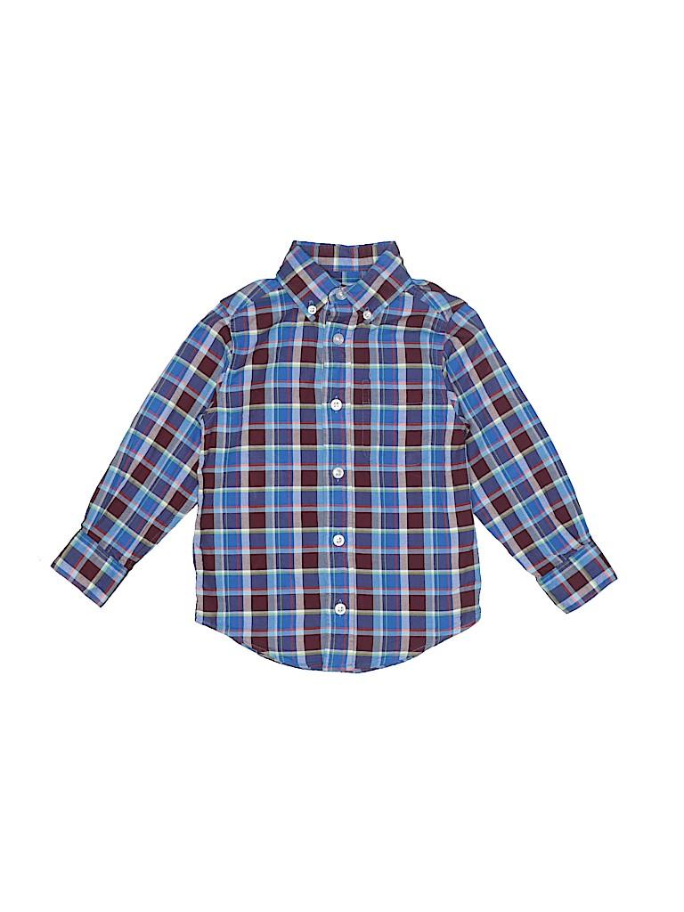Class Club Boys Long Sleeve Button-Down Shirt Size 3T