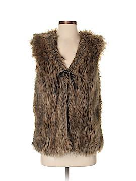The Limited Faux Fur Vest Size S