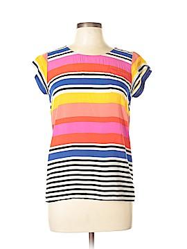 Cynthia by Cynthia Rowley Short Sleeve Blouse Size M