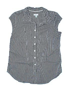 Susina Short Sleeve Button-Down Shirt Size M