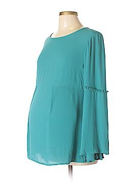 OCTAVIA Maternity Long Sleeve Blouse Size M (Maternity)