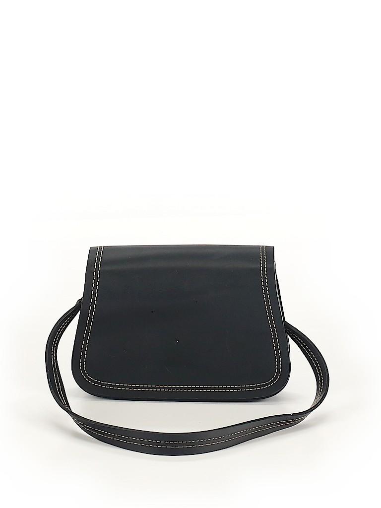 Charter Club Solid Black Shoulder Bag One Size - 66% off  67925df8b6855