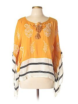 Floreat 3/4 Sleeve Blouse Size M