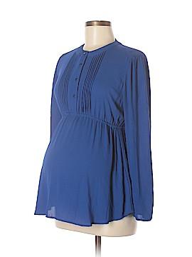 OCTAVIA Maternity Long Sleeve Blouse Size XS (Maternity)