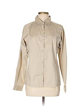 Eastern Mountain Sports Long Sleeve Button-Down Shirt Size M