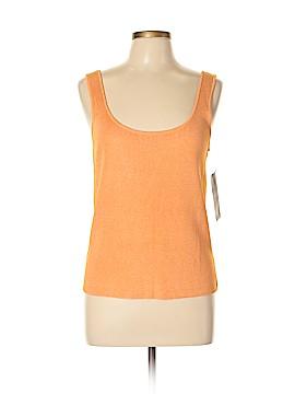 Linda Allard Ellen Tracy Sleeveless Silk Top Size L