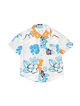Genuine Kids from Oshkosh Short Sleeve Button-Down Shirt Size 4T