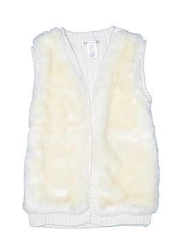 Max Studio Faux Fur Vest Size 7 - 8