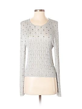 Garnet Hill Silk Pullover Sweater Size XS
