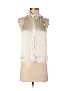 Giorgio Armani Sleeveless Silk Top Size 44 (IT)