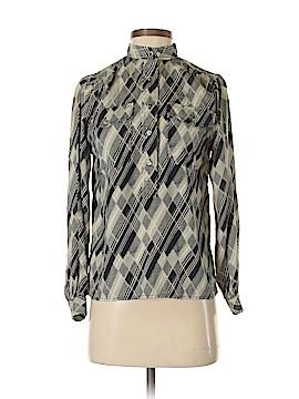 L.L.Bean Long Sleeve Blouse Size 2 (Petite)